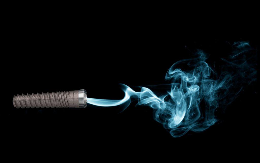 سیگار کشیدن و ایمپلنت
